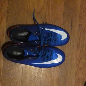 Nike cleed shoes for soccer or football